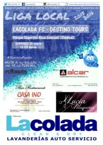 cartel LACOLADA jornada 13